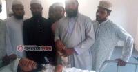 পাথরঘাটায় সাবেক এমপি হিরু সড়ক দূর্ঘটনায় গুরুতর আহত