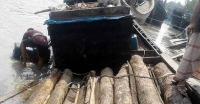 তালতলীতে কাঠ বোঝাই ট্রলারসহ আটক-১