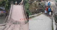 পাথরঘাটায় ব্রিজ ভেঙে পাঁচ গ্রামের মানুষের দুর্ভোগ