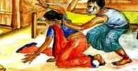 <small>আদালতে মামলা</small> পাথরঘাটায় যৌতুকের দাবীতে স্ত্রীকে পিটিয়ে যখম