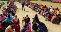 মিরুখালী স্কুল এন্ড কলেজে ৯০০ মায়ের পা ধুয়ে সম্মান জানালো শিক্ষার্থীরা
