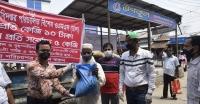 বরগুনায় ১০ টাকা দরে পৌর এলাকায় চাল বিক্রি কার্যক্রম শুরু